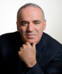 Garry Kasparov, Russian World Chess Champion, Author, Member of the executive board of the Foundation for Responsible Robotics